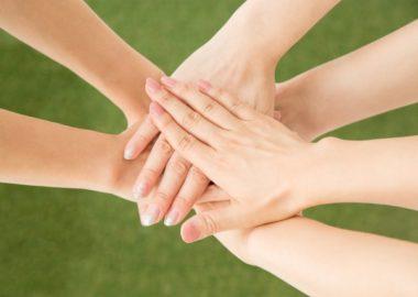 手がコミュニケーションツール